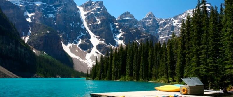 kanada bergwelt see istock 000006818824
